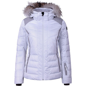 Icepeak Cindy Chaqueta de esquí Mujer, optic white